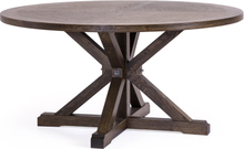 Estelle matbord Brunbetsad ek 150x cm