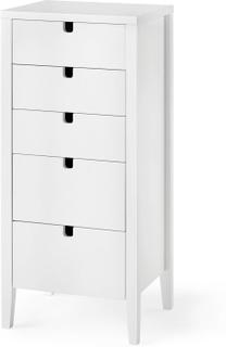 Klinte byrå Vitlack 40x36 cm