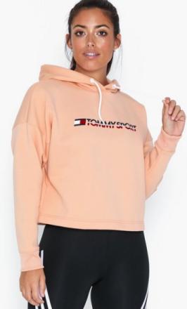 Tommy Sport Cropped Fleece Hoody