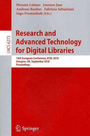 Research and Advanced Technology for Digital Libra