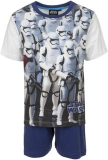 Hvit og Blå Stormtrooper Pyjamas til Gutt