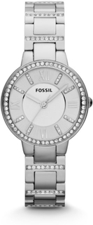 Fossil Virginia Stainless Steel Damklocka 30 mm