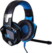 Not specified Kotion EACH G2000 Gaming Headset med volymkontroll & LED - Blå