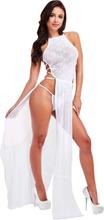Lapdance Lace Gown Vit