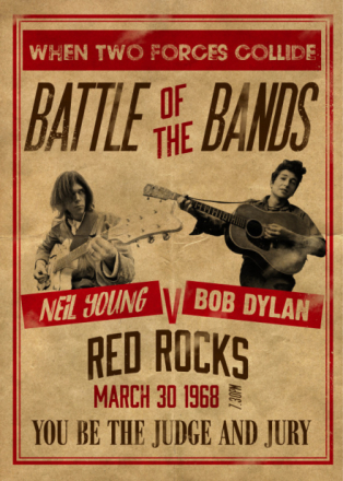 Neil Young v Bob Dylan