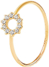 Infinity Drop Ring Gold