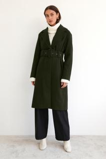 Ava belted coat
