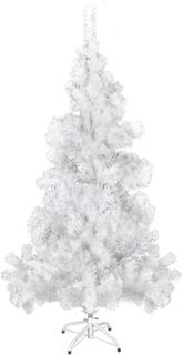 vidaXL Plastgran med fot 150 cm 380 grenar