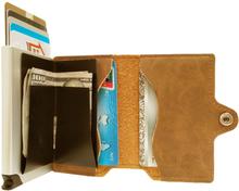 Plånbok med korthållare Safecard Konstläder Brun