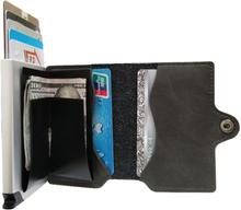 Plånbok med korthållare Safecard Konstläder Grå