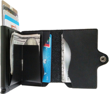 Plånbok med korthållare Safecard Konstläder Svart
