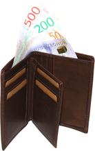 Plånbok SYDNEY JEANS brun