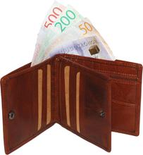 Plånbok VINTAGE DOLLAR Cognac
