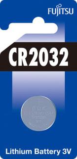Batteri fujitsu cr2032 3v 1stk