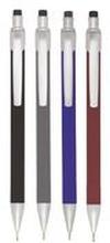 BALLOGRAF Stiftpenna Rondo Plus, 0,5 mm HB-stift, blandade färger på pennkroppen: Svart, vinröd, blåklintsblå och mörkgrå
