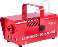Ibiza Rökmaskin med eld/lågeffekt - Röd