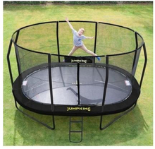 Trampolin - Jumpking Oval Black 4,6 x 3,05 m