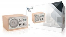 Bord Radio Retro FM / AM 3 W Beige