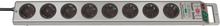 Brennenstuhl Super Solid 8-vägs Grenuttag 2,5 m Silver