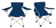 Retkinojatuoli sininen - Camping