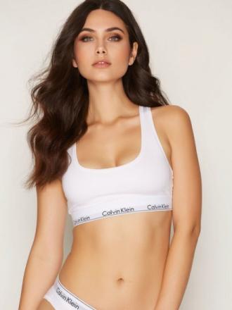 Calvin Klein Underwear Modern Cotton Bralette White