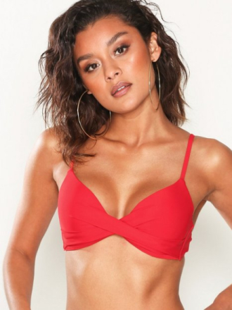 NLY Beach Mix & Match Push Up Bra Rød