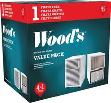 Woods Smf Filter 5-pack Skimmel Partikelfilter Tilbehør Til Klima & Vifte