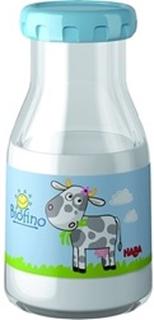 Mælkeflaske, med mælk der forsvinder - HABA