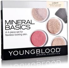 Youngblood Mineral Basic Kit Light 4 x 2 g + 0,5 g + 1 kpl