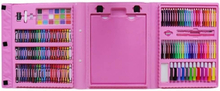eStore Målarlåda för barn, 176 delar - Rosa