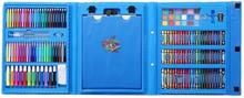 eStore Målarlåda för barn, 176 delar - Blå