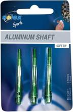 Shafty (nasadki) do rzutek Solex Sports - zielone