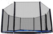 Siatka zewnętrzna do trampoliny 305 cm 10ft 6 słupków