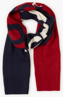 Polo Ralph Lauren Oblong Scarf Halstørklæder & scarves Navy/Red