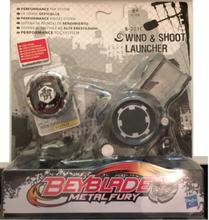 Beyblade Rock Zurafa + Wind & Shoot Launcher - Hasbro