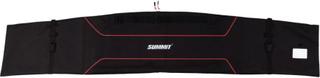 Summit skitaske str. L 190 x 40/31 x 2 cm sort og rød
