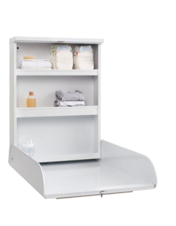 Baby Dan - Alfred - Changing Table - Metal - White (4127-01)