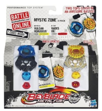 Beyblade Mystic Zone Vulcan Horuseus & Hades Gil - Hasbro