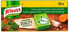 Grönsaksbuljong 10-pack - 33% rabatt