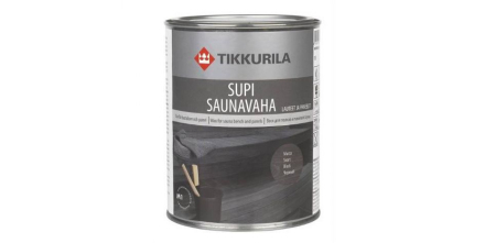 Bastuvax Svart 1 liter