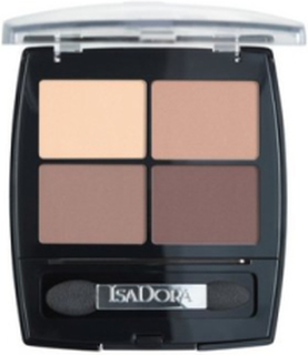 Isadora Eyeshadow Quartet Øjenskygger Muddy Nudes