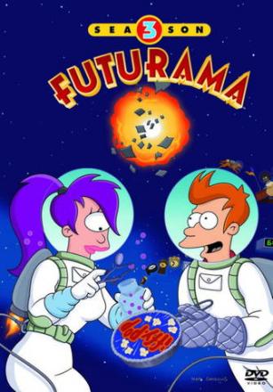 Futurama - Season 3 (4 disc) (Import - Suom.Teksti)