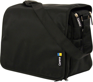 Carena, Koster Skötväska Messenger Bag Black