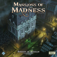 Mansions of Madness (2nd ed): Streets of Arkham - Lautapeli