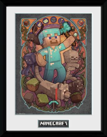 Collector print - Games - Minecraft Steve Nouveau - Merchandise - CDON.COM