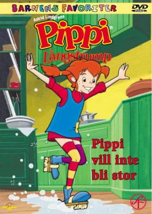 Pippi Långstrump: Vill inte bli stor (Tecknad) (Import - Suom.Teksti)