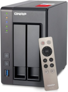 QNAP TS-251+-2G/Celeron 2.0GHz 2-Bay/Tower/SATA 6Gbps/2GB