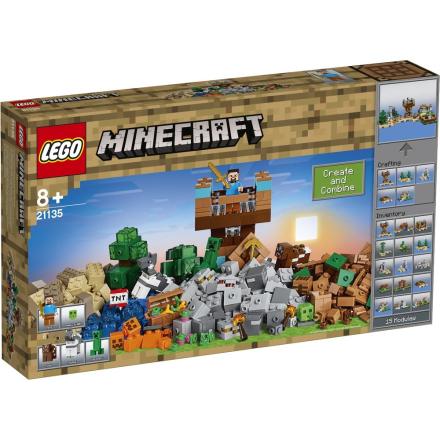 LEGO Minecraft, 21135, Crafting-boks 2.0 - CDON.COM