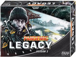 Pandemic Legacy Black Season 2 - Brädspel