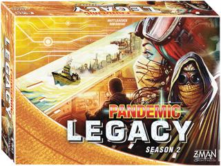 Pandemic Legacy Yellow Season 2 - Brädspel